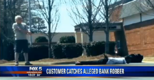 WHAT WOULD YOU DO: Take-down Of Bank Robber After Robbery