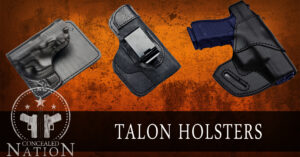 [HOLSTER REVIEW] Talon Holsters: A Nice Assortment Of High Quality Leather Holsters