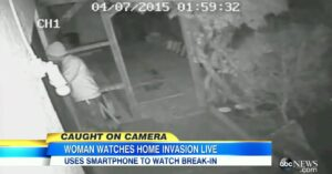 Home Invasion Caught On Surveillance System, Homeowner Buys Gun After Realizing Cameras Won't Deter Criminals