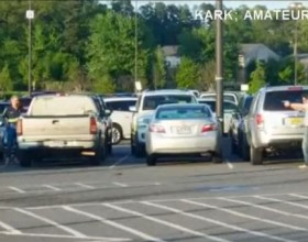 [VIDEO] Concealed Carrier Stops Attack On Elderly Man In Kroger Parking Lot
