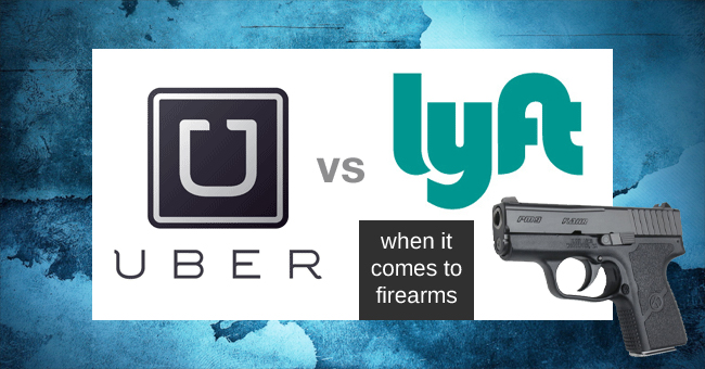 Uber vs lyft firearms weapon policy