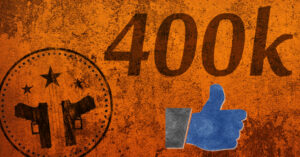 400k Milestone On Facebook: HOLY COW!