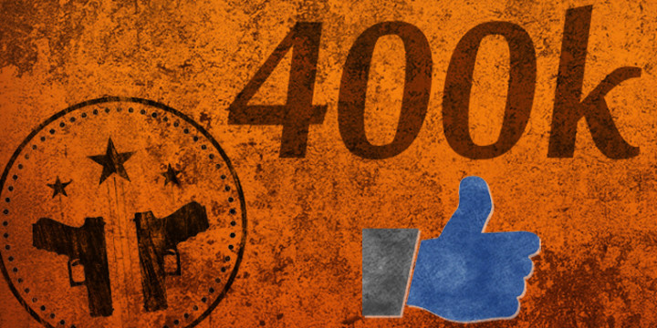 400k facebook likes