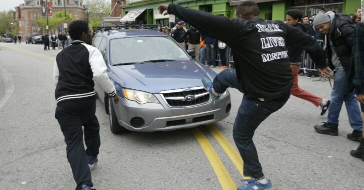 Concealed Carry Within The Vehicle, Encountering A Protest Turned Violent