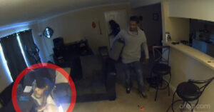 More Intense Surveillance Footage Of Home Invasion, Except This Victim Is Missing A Firearm To Fight Back With
