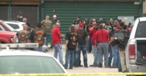 Biker Gang Shootout Leaves Nine Dead In Waco Texas Restaurant Parking Lot