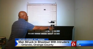 Homeowner Engages Intruders In Shootout In Orlando, Bullets Head Next Door