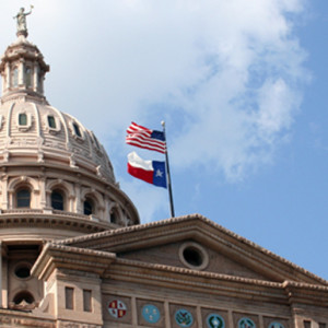 texas flag capitol