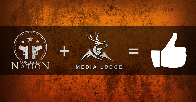 Concealed nation media lodge partnership announcement 2015