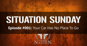 SITUATION SUNDAY #001: Your Car Has No Place To Go