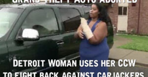 Detroit Woman Saves Herself From Carjackers
