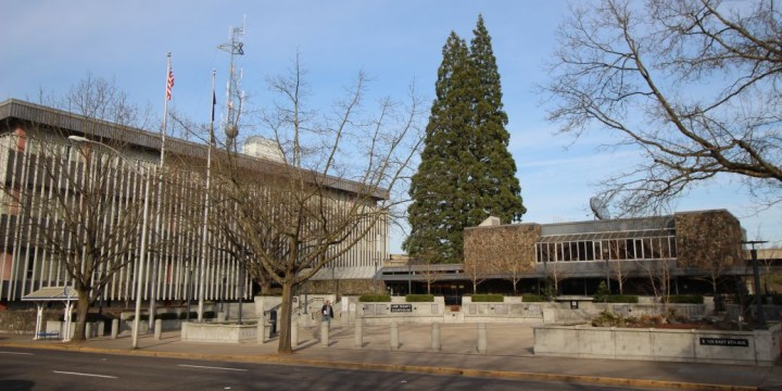 Lane county courthouse eugene oregon