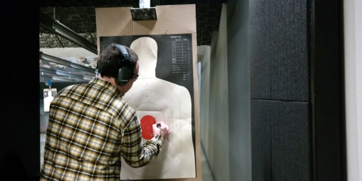 Concealed Carry tracking shot groups at the range