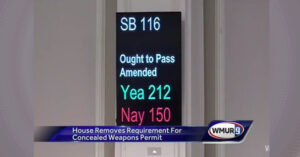 NH Could Be Number Eight!!!  Constitutional Carry Bill Reaches Hassan's Desk