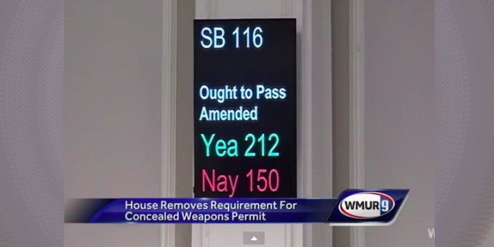 Senate bill 116 permitless concealed nh