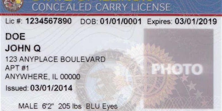 Illinois CCW LICENSE