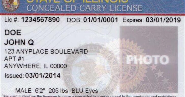 Illinois Extends Expiring CCW Permits And FOID Cards Due To Virus Outbreak