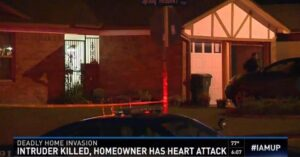Homeowner Kills Intruder, Dies From Heart Attack