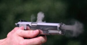 [VIDEO] Double Barrel 1911 VS Ballistic Gel