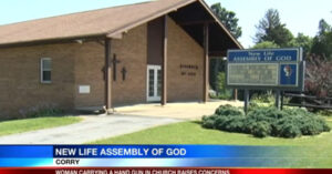 Woman Has Her Legally Concealed Firearm Exposed In Church, Everyone Freaks Out