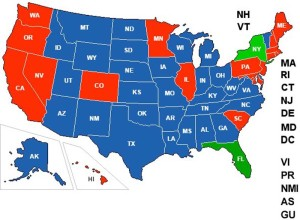 Did You Know There's An Interactive Concealed Carry Reciprocity Map Out There?