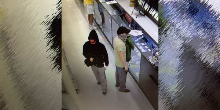 Surveillance pictures of Academy robbery 1