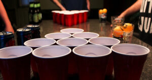 Beer Pong Gone Wrong!  …When An Idiot Brings His Gun To The Party