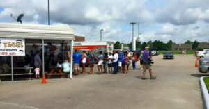 Texas CHL Holders Rewarded With Free Brisket Sandwich On The 4th – Business Was Ridiculous!