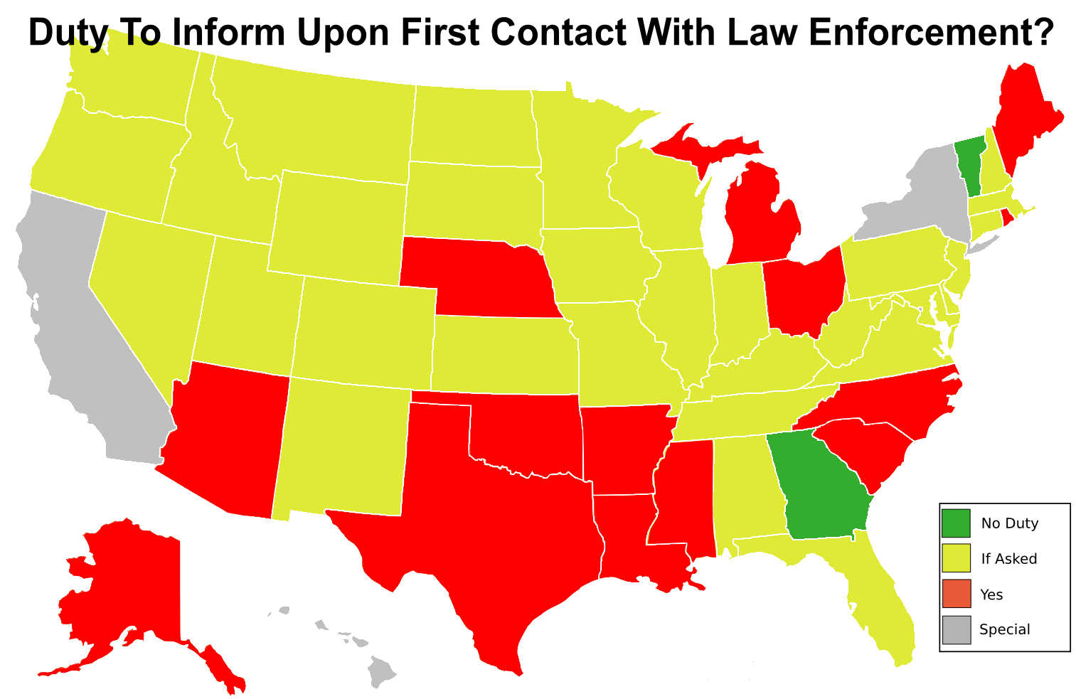 Do You Have A Duty To Inform When Carrying Concealed We Look At