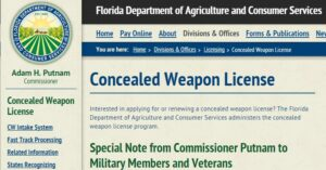 Florida Expiditing Concealed Carry Permits For Active Military And Veterans In Wake Of Chattanooga Attacks