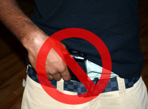 10 Things You Should Never Do As A Concealed Carrier