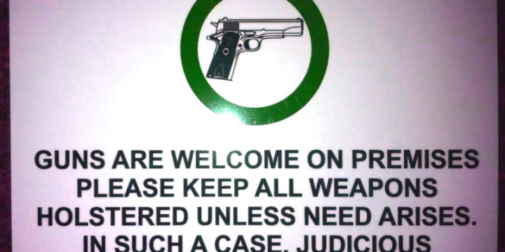 Not gun free zone