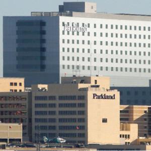 Parkland hospital outside