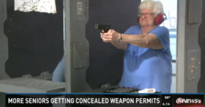 More Seniors Getting Concealed Carry Permits