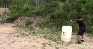 [VIDEO] Defensive Pistol Shooting Drills: Training Never Stops