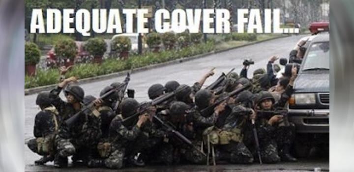 Cover fail