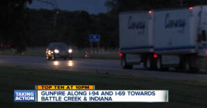 Sniper Activity Reported In Vicinity Of I-94 and I-69 Near Battle Creek, Michigan
