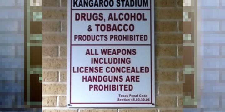 Stadium policy