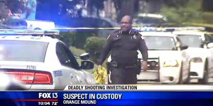 Memphis robber shot dead