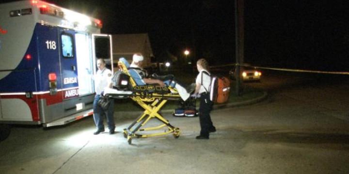 Whatever ambulance ride dummy