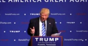 "[VIDEO] TRUMP On 2A: ""I Have A License To Carry In NY. If Somebody Attacks Me, They're Going To Be Shocked."""