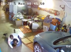 CAUGHT ON CAMERA: Thug Tries To Rob Man In His Garage, Has Gun Wrestled Away; Things To Learn From This Encounter
