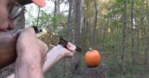 HICKOK45 At It Again: Pumpkin Carving With A Henry Rifle