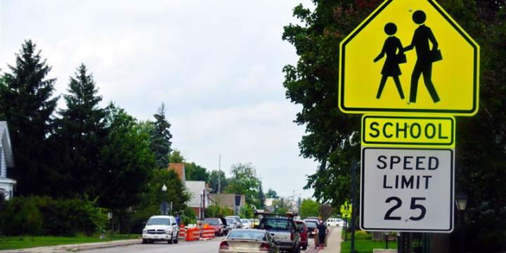 Third street sign