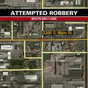 Armed robbery and shooting