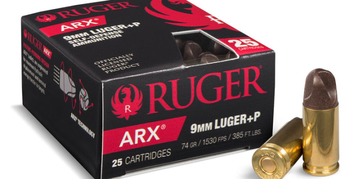 Ruger arx 9mm self defense ammunition