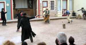 Tombstone Re-Enactment Goes Sour — Fellow Actor Shot By Idiot Who Didn't Check His Gun, Fired Live Rounds Instead Of Blanks