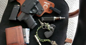 #DIGTHERIG — James England and his Glock 36 With Alien Gear 1.0 IWB