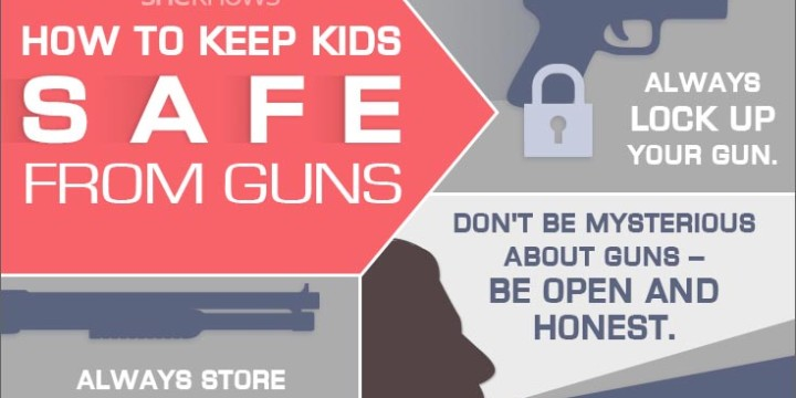 How to keep guns safe from kids