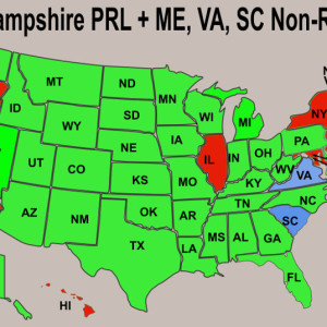 Federal Concealed Carry Permits Do They Exist For Citizens - Handgunlaw us ccw map